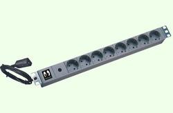 """Online USV 19"""" USV-Kaltgeräteadapter/-Steckdosenleiste 8-fach"""