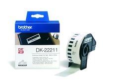 Endlos-Etikettenfilm DK-22211 weiß, 29mm x 15,2m