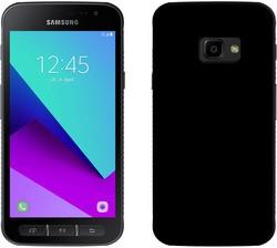 PEDEA Soft TPU Case (glatt) Samsung Galaxy Xcover 4/4s Schwarz