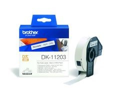 Ordnerregister-Etiketten DK-11203 (300 St.) weiß 17 x 87 mm