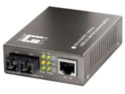 LevelOne POE Converter 100TX to 100FX-SC Singlemode 20KM