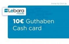 Lebara Aufladekarte 10 EUR