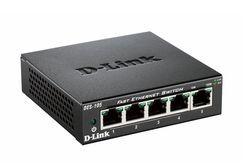 D-Link DES-105 5-Port Layer2 Fast Ethernet Switch