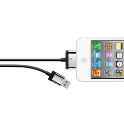 Belkin Lade-Sync Kabel mit 30-pin Anschluss schwarz