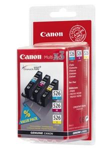 Canon Tintenpatronen CLI-526 Multipack (C/M/Y)
