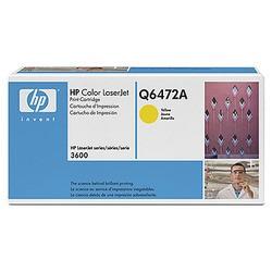 HP Toner Q6472A Gelb (ca. 4000 Seiten)