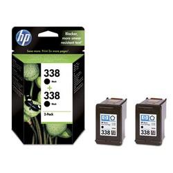 HP Tintenpatrone Nr. 338 Doppelpack Schwarz (ca.480 Seiten)