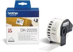 Endlos-Etiketten DK-22225 weiß, 38mm x 30,48m