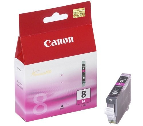 Canon Tintenpatrone CLI-8M magenta (ca. 420 Seiten)
