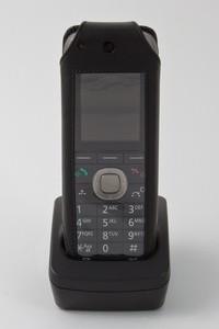 Ledertasche für Panasonic KX-TCA285CE DECT/KX-UDT121CE