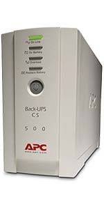 APC Back-UPS CS 500 VA Multipath, USB