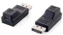 equip DisplayPort zu miniDisplayPort Adapter M/W, schwarz