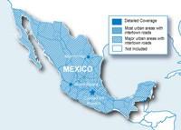 Garmin Straßenkarte SD Mexiko NT (Micro SD/SD-Adapter)