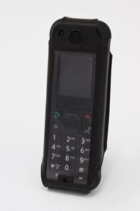 Ledertasche für Panasonic KX-TCA385CE DECT/KX-UDT131CE