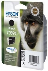 Epson Tintenpatrone T0891 Schwarz (ca. 170 Seiten)