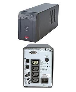 APC Smart UPS SC 420 VA, line-interaktiv, serielle SS, inkl SW