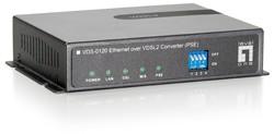 LevelOne VDS-0120 Ethernet over VDSL2 PSE Konverter