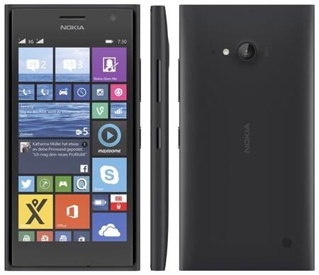 Nokia Lumia 730 Dual-SIM (grey)