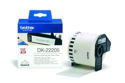 Endlos-Etiketten DK-22205 weiß, 62mm x 30,48m
