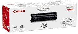Canon Toner CRG 728 BK (ca. 2.100 Seiten)