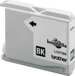 Brother Tintenpatrone LC-970BK Schwarz (ca. 350 Seiten)