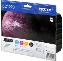 Brother Tintenpatronen LC-1220 Multipack (je 1x BK/M/C/Y)