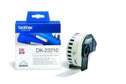 Endlos-Etiketten DK-22210 weiß, 29mm x 30,48m