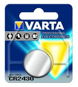 VARTA Knopfzellenbatterie Electronics CR2430 Lithium