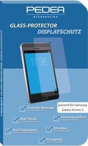 PEDEA Glas Displayschutz für Samsung Galaxy Xcover 4/4s