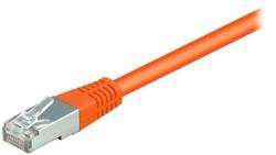 equip CU Patchkabel S/FTP 2xRJ45 Cat.6 250MHz orange 3,0m