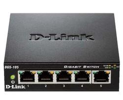 D-Link DGS-105 5-Port Layer2 Gigabit Switch