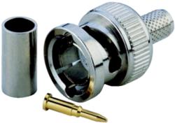 LUPUS - BNC-Crimpstecker - inkl. Knickschutz für BNC-Kabel