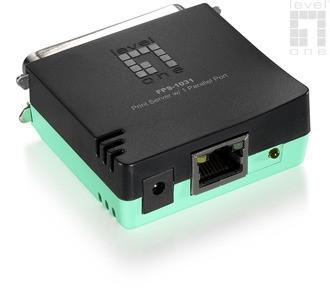 LevelOne FPS-1031 Print Server mit 1 Parallel-Port