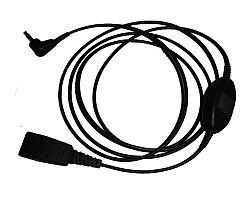 JABRA Anschlusskabel QD auf 2,5mm Klinke m. Rufannahmetaste