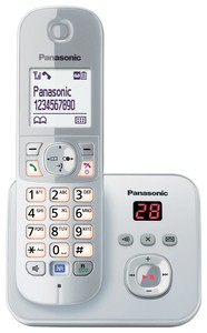 Panasonic KX-TG6821GS perlsilber mit AB
