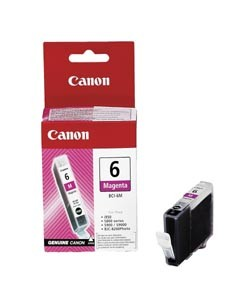 Canon Tintenpatrone BCI-6M Magenta (ca. 280 Seiten)