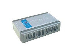 D-Link DUB-H7 USB 2.0 Hub 7-Port mit Netzteil