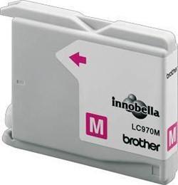 Brother Tintenpatrone LC-970M Magenta (ca. 350 Seiten)
