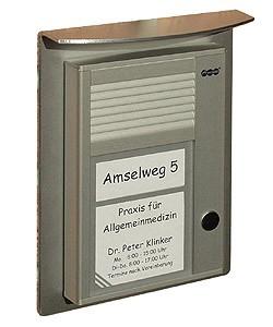 Auerswald Wetterschutzdach klein f. TFS-Dialog 100/200 -Serie