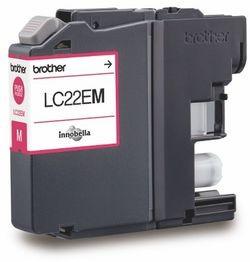 Brother Tintenpatrone LC-22EM Magenta (ca. 1200 Seiten)