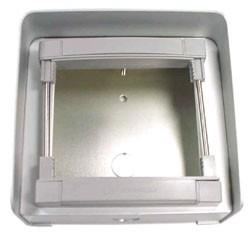 MD91 Aufputzrahmen für 1 Modul mit Wetterschutzdach