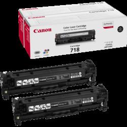 Canon Toner 718 schwarz Doppelpack (ca. 6800 Seiten)