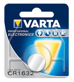 VARTA Knopfzellenbatterie Electronics CR1632 Lithium
