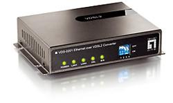 LevelOne VDS-0202 VDSL Ethernet Konverter BNC