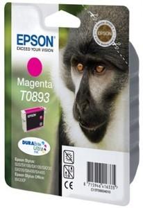 Epson Tintenpatrone T0893 Magenta (ca. 135 Seiten)