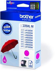 Brother Tintenpatrone LC-225XLM Magenta (ca. 1200 Seiten)