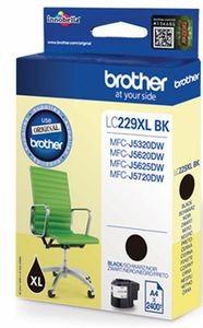 Brother Tintenpatrone LC-229XLBK Schwarz (ca. 2400 Seiten)