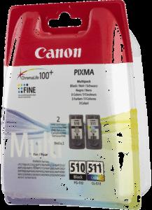 Canon Tintenpatronen PG-510/CL-511 Multipack (BK/C/M/Y)