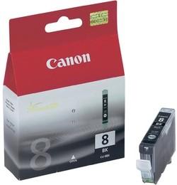 Canon Tintenpatrone CLI-8BK schwarz (ca. 280 Seiten)