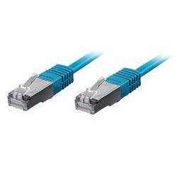 equip CU Patchkabel S/FTP 2xRJ45 Cat.6 250MHz blau 10,0m
